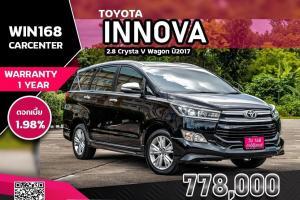 TOYOTA INNOVA 2.8 Crysta V Wagon ปี2017 (T129)