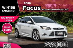 Ford Focus 2.0 Sport Hatchback AUTO ปี 2013 (F036)