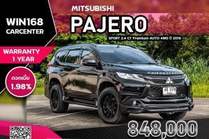 MITSUBISHI PAJERO SPORT 2.4 GT Premium  AUTO 4WD  ปี 2016  (MI036)