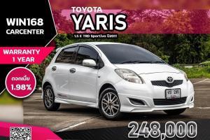 TOYOTA YARIS 1.5 E TRD Sportivo ปี2011 รถเดิมเชียงใหม่ (T132)
