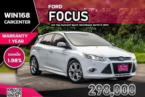 FORD FOCUS 2.0 Top Sunroof Sport Hatchback AUTO ปี 2013 (F038)